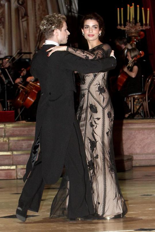 Tonia netančí, ale waltz zvládla skvěle.
