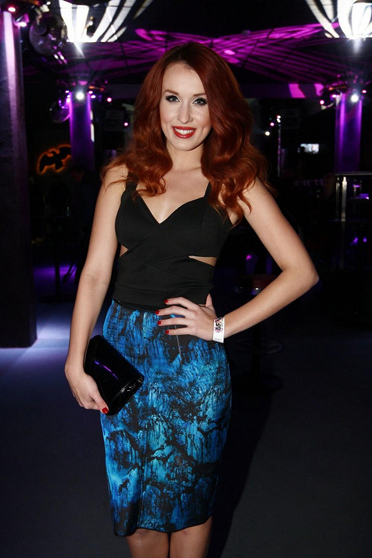 K hostům patřila i moderátorka a herečka Lenka Vacvalová.