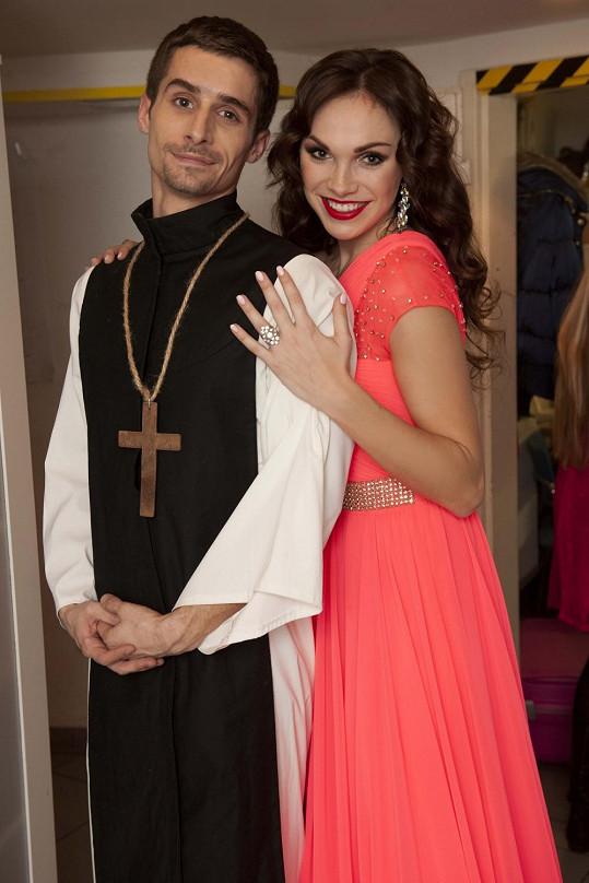 Kamila se svým přítelem Tomášem