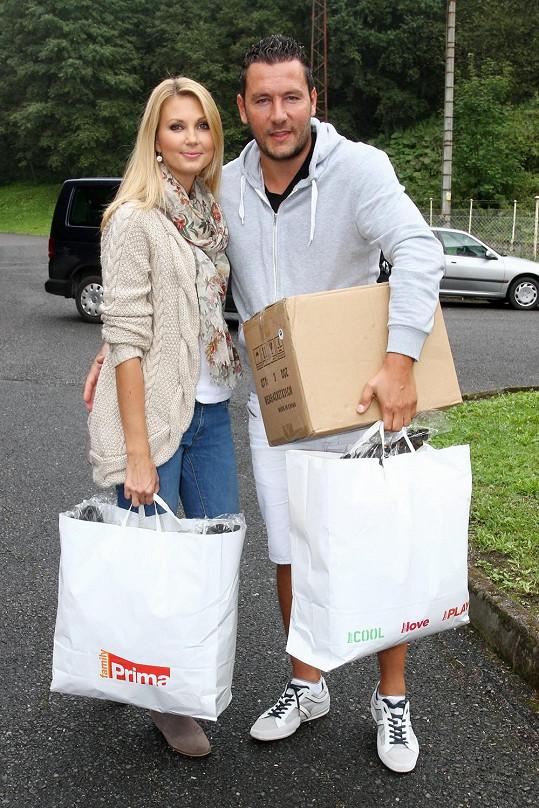 Michal se Sandrou jsou krásný pár a už se baví i o dítěti.