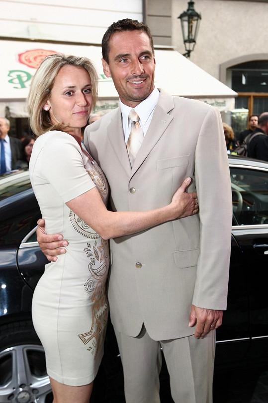 Manželé Šebrlovi jsou oba sportovci.
