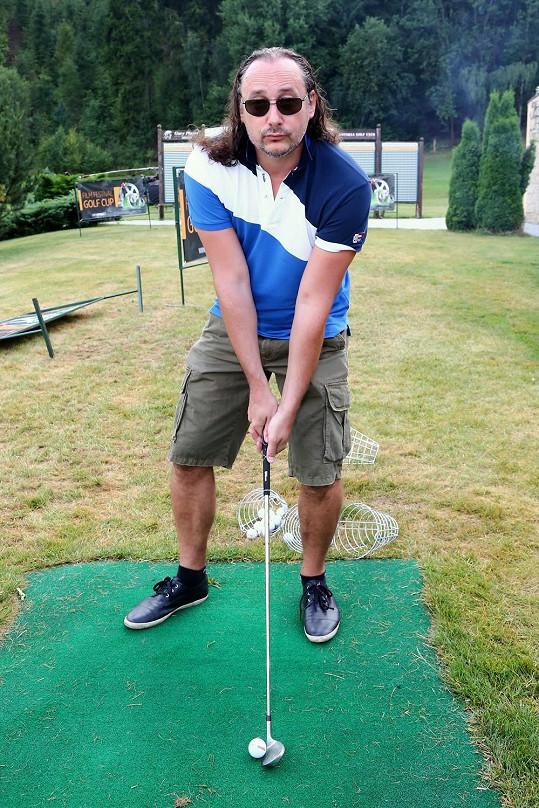 Marian na golfovém turnaji
