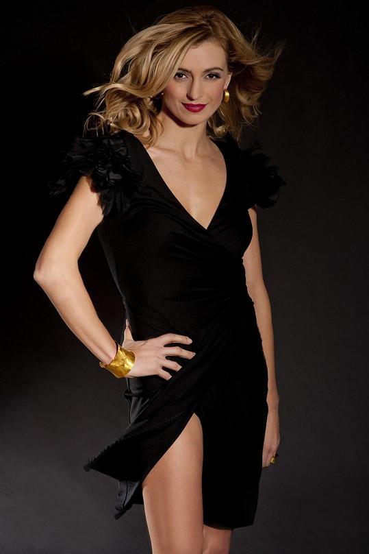Ivana umí být i za elegantní dámu.