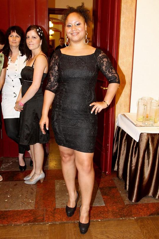 Madalena Joao konečně zhubla.