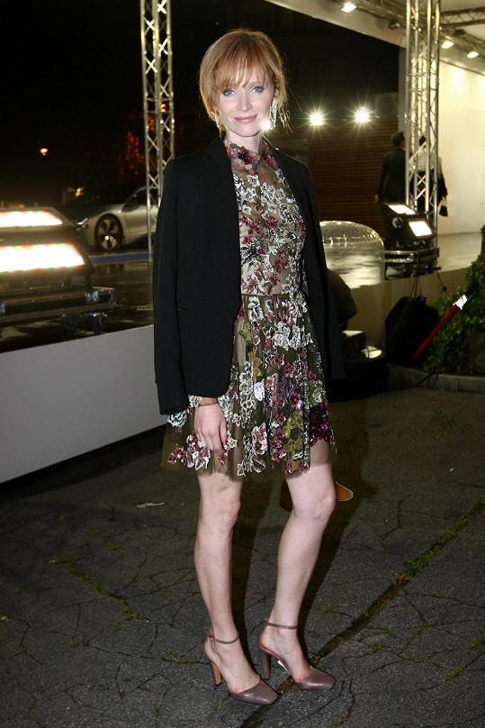 Aňa Geislerová na Elle párty ve špercích za dva a půl miliónu korun.
