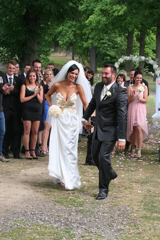 Svatba proběhla v naprostém utajení.