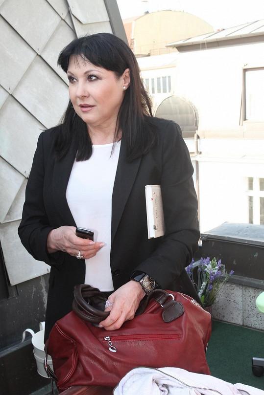 Dagmar Patrasová opět shodila pár kilogramů.