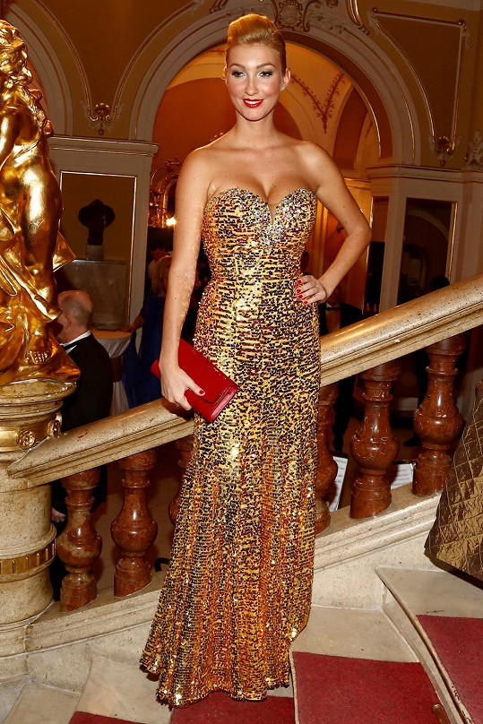 Dominika Mesarošová zvolila zlatý model.