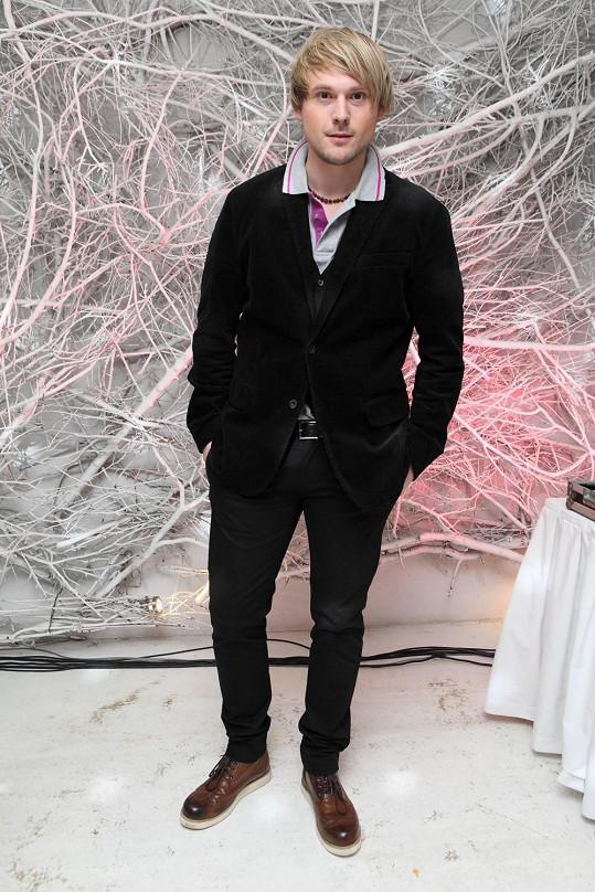 David Deyl se zúčastnil večírku pořádaném u příležitosti představení nového parfému.