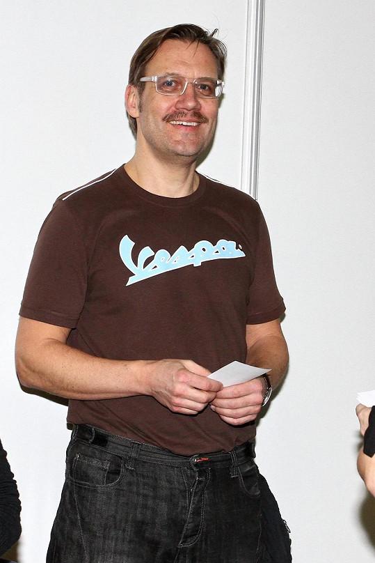 Veletrh zahajoval také David Matásek.