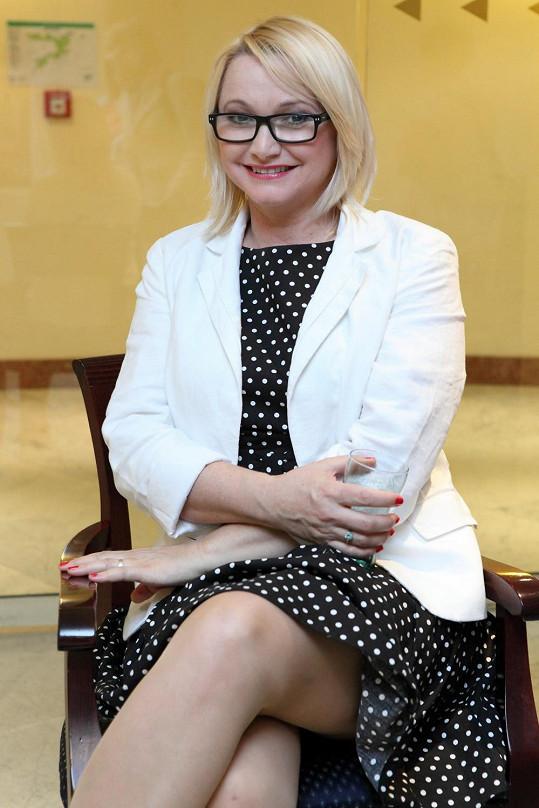 Anna Šišková na svatbě nechyběla.