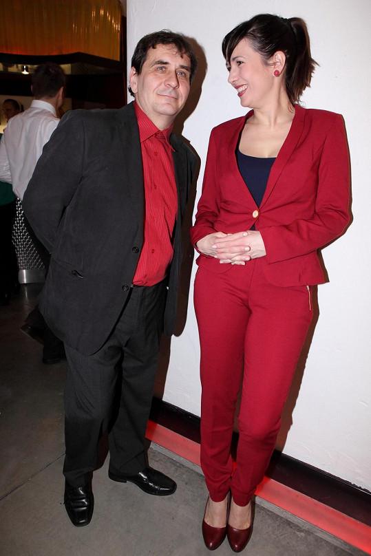 Tereza Kostková s manželem v dobách, kdy jim to ještě klapalo.