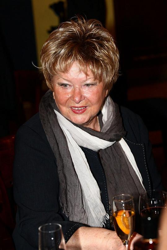 Alena Vránová si zahrála legendární Pyšnou princeznu.
