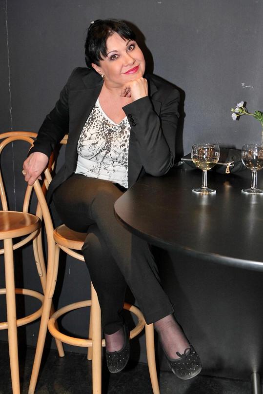 Na představení se byla podívat i Dagmar Patrasová.