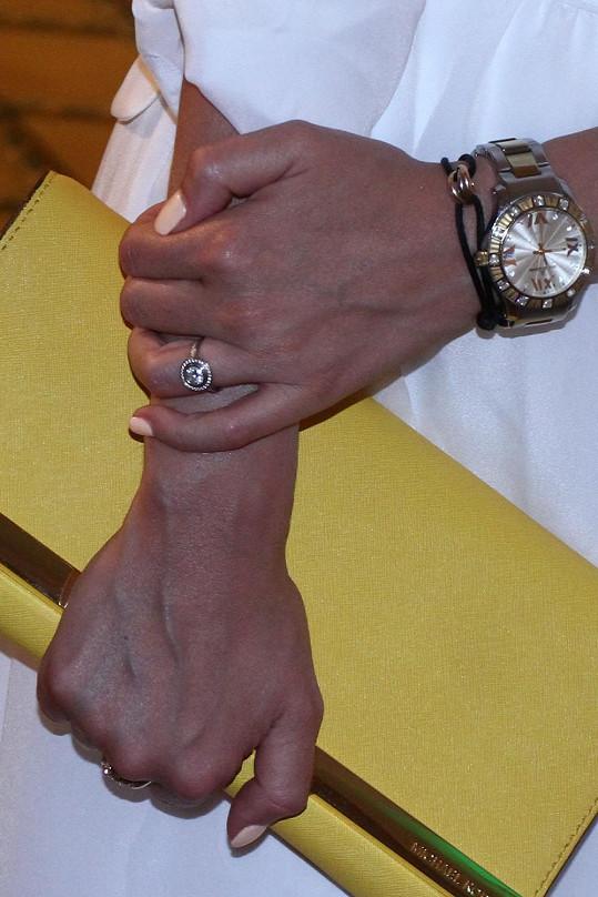 Nádherný zásnubní prsten Cartier za půl miliónu.