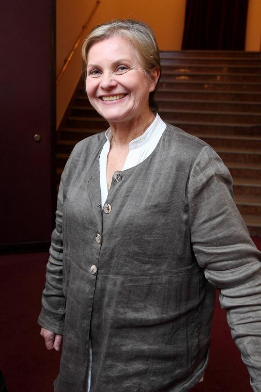 Marta Vančurová už hraje babičky.