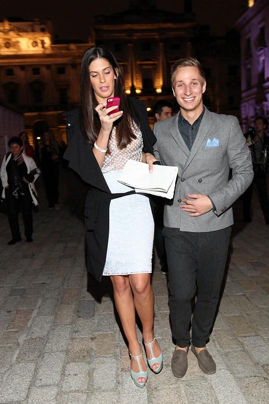 Michal a Aneta v Londýně.