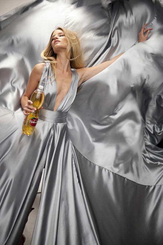 Linda Vojtová v reklamě