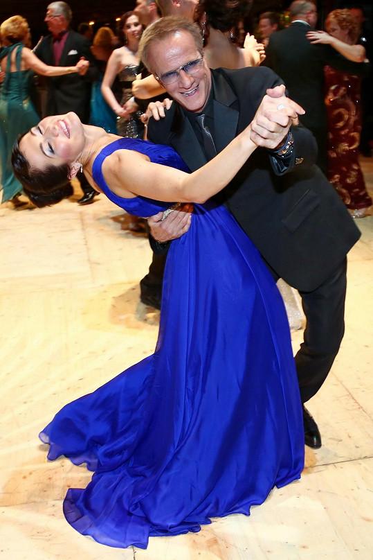 Jana Doleželová měla tu čest tančit s hercem Christopherem Lambertem.