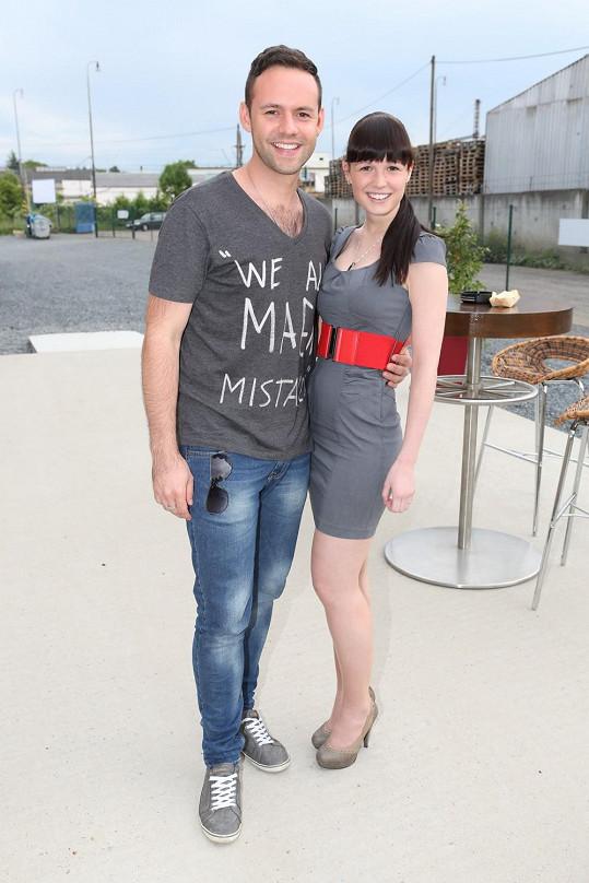 Michael Foret s přítelkyní Eliškou spolu žijí tři roky.