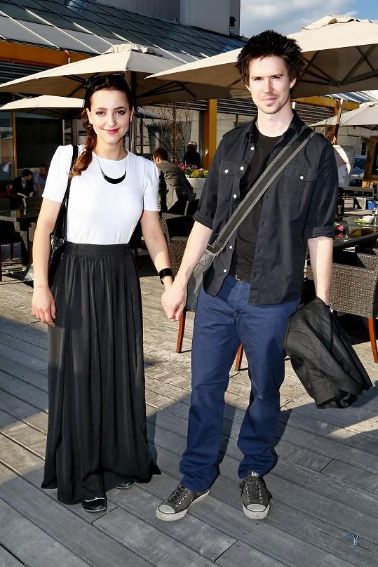 Petra Horváthová s přítelem Tomášem