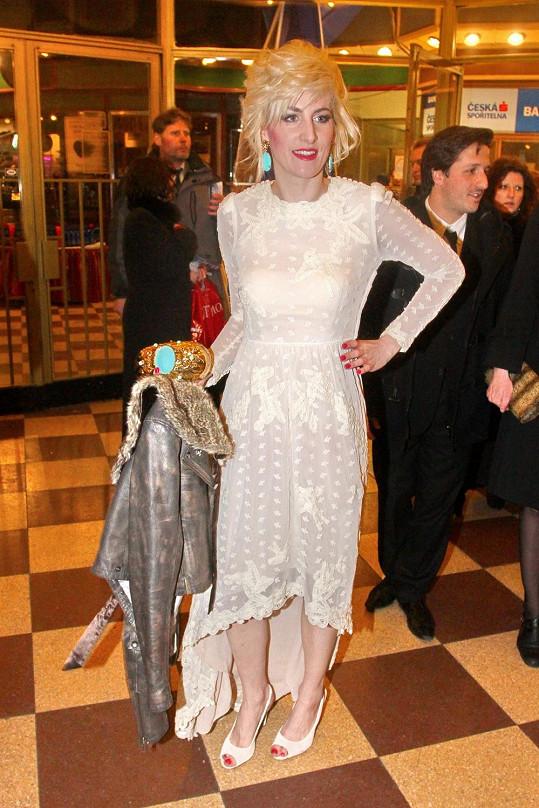 Klára Vytisková se ráda obléká hodně nekonvenčně.