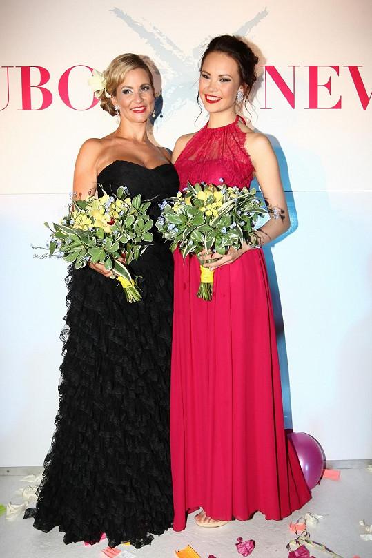 Spolu s Monikou Leovou byla kmotrou soutěže Souboj nevěst.