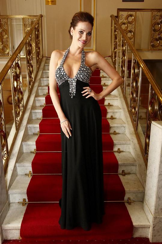 Andrea na galavečeru La Sophia