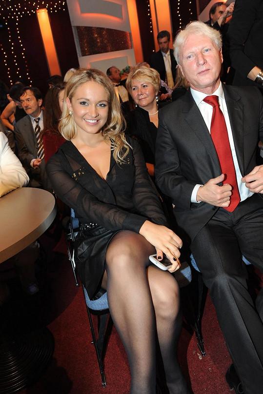 Patroni Táňi Kuchařové, sestra Livie a kamarád Ladislav Špaček.