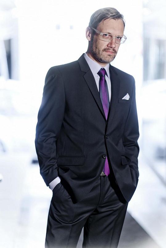 David Matásek v roli modela