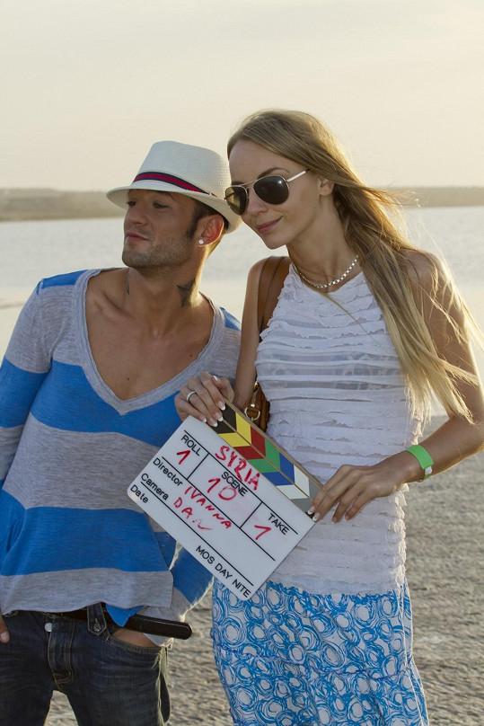 S režisérkou Ivannou Benešovou.
