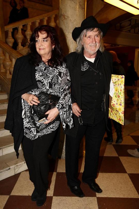 Slovenští manželé si nenechali ujít koncert Richarda Müllera v Lucerně.