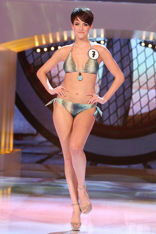 Gabriela zaujala na České Miss i díky krátkému sestřihu.