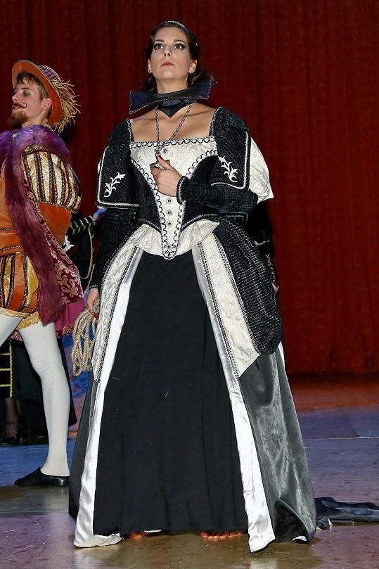 Marta Ondráčková jako Marie Stuartovna