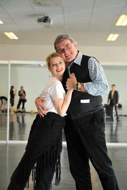 Známý tanečník a herec Vlastimil Harapes přijel jako čestný host na taneční festival Dance Life Expo.