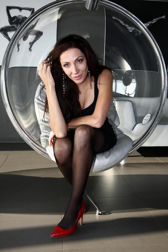 Olga Lounová natáčela klip k písničce Motivace k činu.