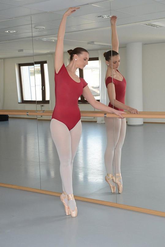 Monika Sommerová ze začátku zkoušek