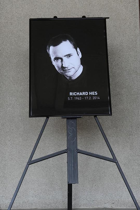 Richard Hes zemřel v pondělí ve věku 50. let.