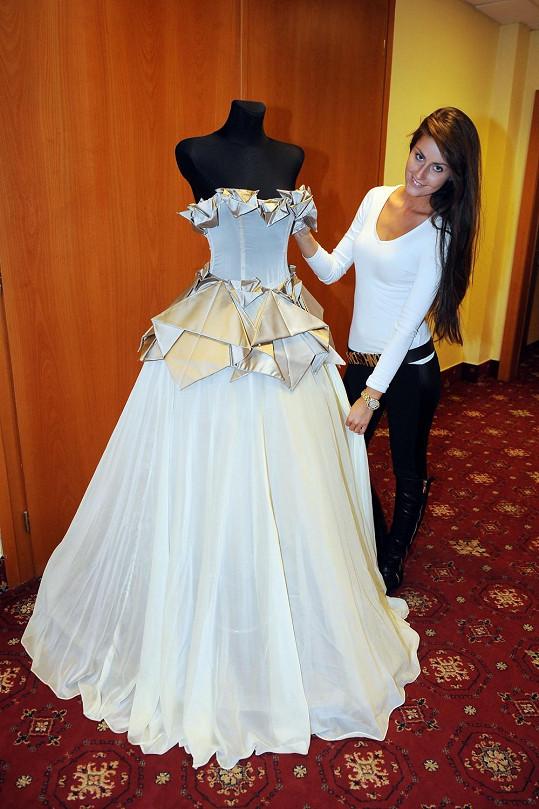 Návrhářka Sandra Marková má na starost šaty pro finalistky.