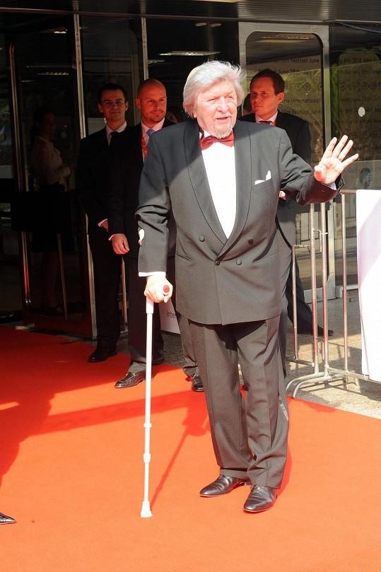 Filmový matador Miroslav Ondříček.