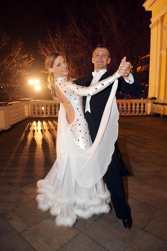 Pavlína dbala i na výběr kostýmu k tanečnímu vystoupení.