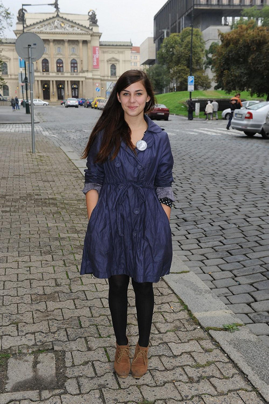 Kateřina Pechová hraje v seriálu Ordinace v růžové zahradě.