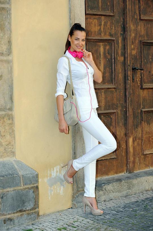Kateřina Sokolová za poslední dobu hodně zhubla a i díky tomu má v modelingu spoustu práce.