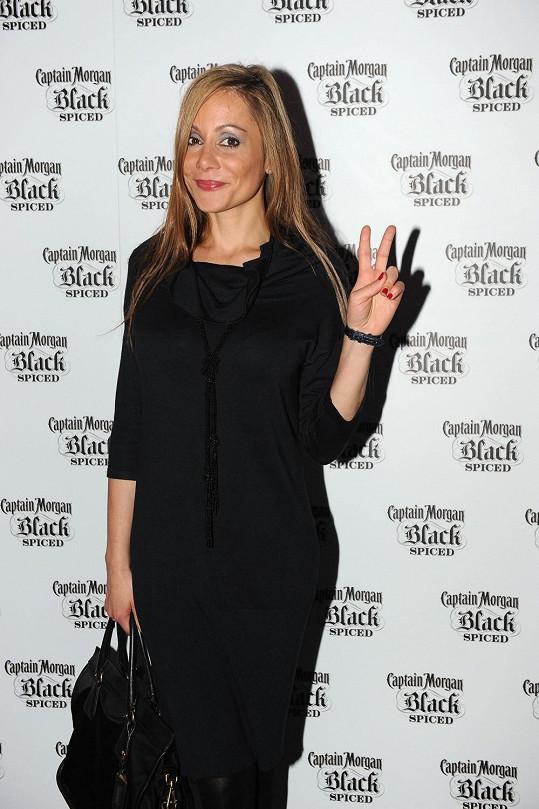Z Lucie Gažiové je blondýnka.