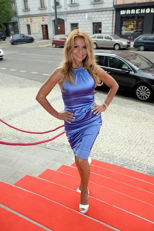 Yvetta Blanarovičová má postavu jako dvacetiletá holka.