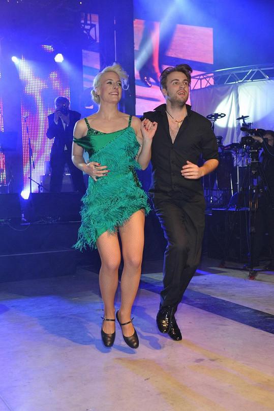 Anna a Michal Kurtiš spolu nejen tančí, ale i chodí.