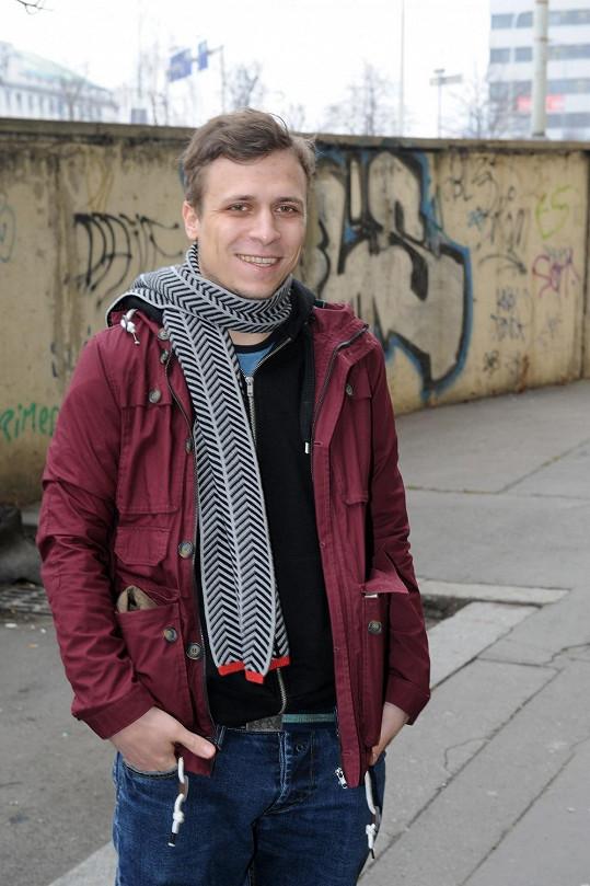 Tomáš Vorel jr. hraje výhradně ve filmech svého otce.
