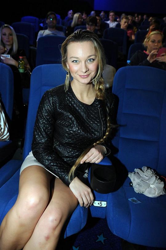 Bára Mottlová na premiéře filmu 300: Vzestup říše