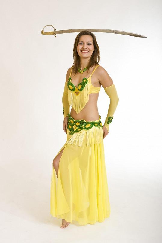 Starší sestra Zory Kepkové Lucie je orientální tanečnicí.