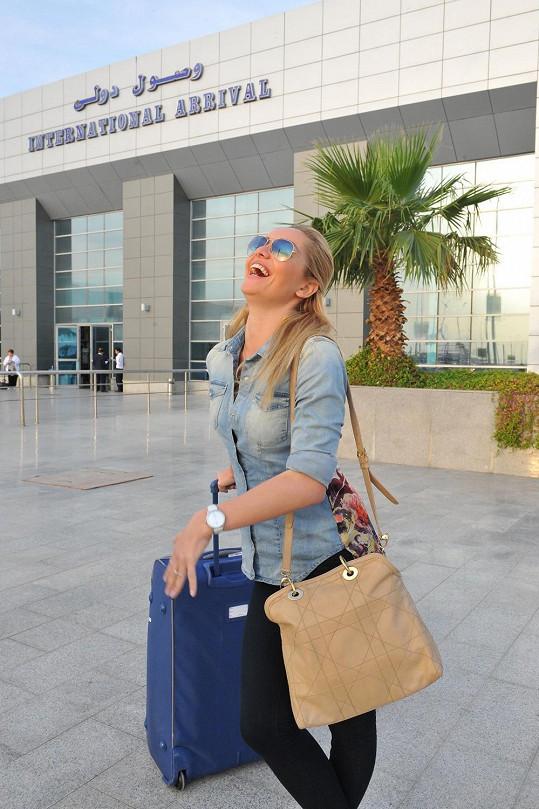 Taťána bude v Egyptě fotit kampaň návrhářky Ivany Mentlové.